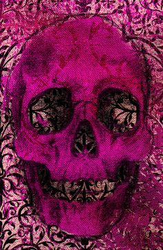 Skullicious  by Joe Sander    Don´t usually like skull stuff