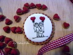 Galletas San Valentín.