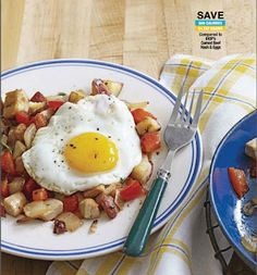 Turkey Hash With Eggs Recipe