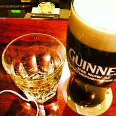 Jameson and Guinness...