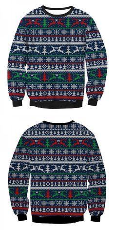 3D Print Pullover Hoodies with Pocket Elk Deer Soft Fleece Hooded Sweatshirt for Youth Teens Kids Boys Girls 7-20 Years