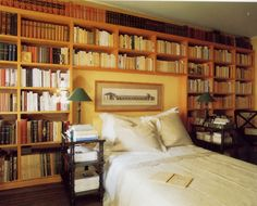 Bedroom Bookshelves. I Like The Amount This Shelve Would Hold!