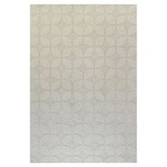 Hand-loomed wool rug with geometric motif.  Product: RugConstruction Material: 100% WoolColor: IvoryFeatures: Hand-loomedNote: Please be aware that actual colors may vary from those shown on your screen. Accent rugs may also not show the entire pattern that the corresponding area rugs have.Cleaning and Care: Regular vacuuming and spot cleaning recommended