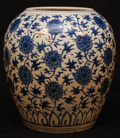 blue designer porcelain vase - Google Search