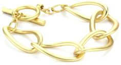 Kenneth Cole New York Gold-Tone Link Toggle Bracelet Kenneth Cole New York. $28.00. Made in China. Made in CN
