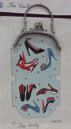 A shoe purse by Sandra Gilmore