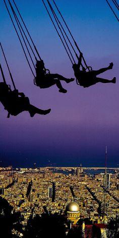 Vista de Barcelona desde el Tibidabo - Barcelona. #Catalunya