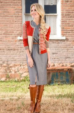 Shop for beautiful striped sweaters with asymmetrical details online at Shabby Apple! Find vintage & retro style, modest clothing & cute accessories for women in a variety of styles & colors at www.shabbyapple.com.