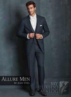 Slate Blue 'Allure' Tuxedo