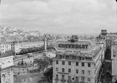 Praça do Rossio, Baixa, Lisboa