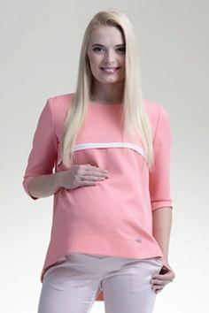 Těhotenská růžová halenka na léto Women, Fashion, Tunic, Moda, Fashion Styles, Fashion Illustrations, Woman