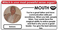 Which of your senses are the strongest? Click to find out.