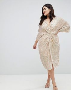 40 Plus Size Spring Wedding Guest Dresses {with Sleeves - Plus Sized Dress - Ideas of Plus Sized Dress - ASOS Curve Plus Size Wedding Guest Dresses, Plus Size Formal Dresses, Wedding Dresses, Curve Fashion, Plus Size Fashion, Looks Plus Size, Look Plus, Moda Xl, Outfits Plus Size