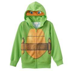 Teenage Mutant Ninja Turtles Michelangelo Costume Hoodie - Boys 4-7x
