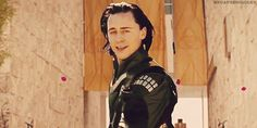 Pin for Later: 33 Reasons Tom Hiddleston Is the Best Part of The Avengers Because he looks like this, and you even dig the hair.
