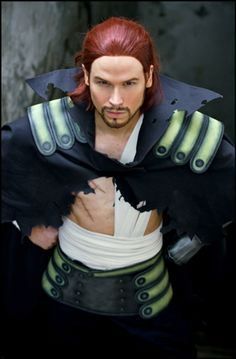 Gildarts Clive Cosplay from Fairy Tail! Epic Cosplay, Amazing Cosplay, Cosplay Costumes, Anime Cosplay, Natsu Cosplay, Pokemon Cosplay, Cosplay Diy, Cosplay Makeup, Fairy Tail Cosplay