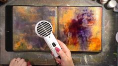 Don't Be Afraid...Art Journal Page - YouTube
