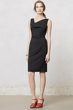 Cowlneck Pencil Dress | anthropologie