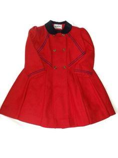 Vintage Rothschild UNION MADE Wool Dress Jacket http://www.ebay.com/itm/Vintage-Rothschild-RED-Navy-Wool-Coat-Dress-Jacket-Size-6-Sailor-Collar-/301655293680?ssPageName=STRK:MESE:IT  #Rothschild #madeinUSA #unionstrong #LYLACS_4U