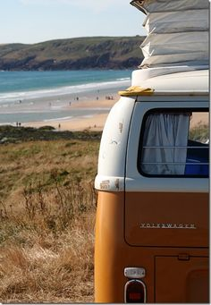 Have you ever laid down in the back of a VW and just relaxed listening to the sound of the ocean?  I highly recommend it.