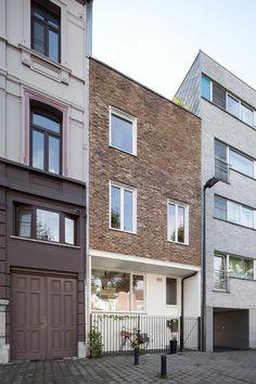 Dierendonck Blancke architecten - woning Pynaertkaai - Gent