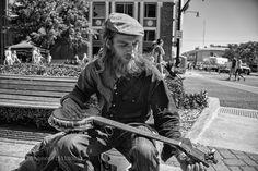 Street Musician Norman Music Festival by crushton43