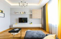 Apartament de 2 camere amenajat modern cu accente de galben - imaginea 16