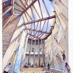 Architectural Renderings In Watercolor - The Old School Alternative To 3D…