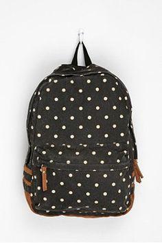 Carrot Polka Dot Backpack