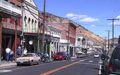 Virginia City, Nevada!  Love this place, once saw Peter Fonda here!!  True story.
