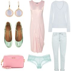 Pastels can work as base for Light Summer. Baby blue, mint and of course pink. Summer Set, Summer Baby, Light Spring, New Wardrobe, Baby Blue, Seasons, Summer Dresses, Outfits, Collection