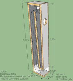 """Image result for voigt pipe speaker plan 8"""""""