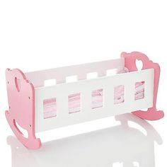 Molly #dolly wooden dolls #rocking #cradle/crib wood rocker cot bed & bedding, View more on the LINK: http://www.zeppy.io/product/gb/2/401005916959/