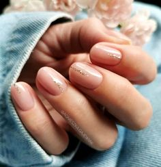 stylish designs short nails nail for 60 60 Stylish Nail Designs For Short NailsYou can find Natural nails and more on our website Short Gel Nails, Long Nails, Short Nails Art, Manicure For Short Nails, Short Natural Nails, Natural Nail Art, Natural Nail Designs, Easy Nails, Manicure Ideas