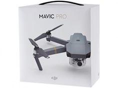Drone DJI Mavic Pro - com Câmera com as melhores condições você encontra no Magazine Vocevaiadorar. Confira!