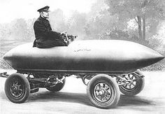 Electric racing car Le Jamais Contente. In 1899, it became the first manned vehicle of any sort to break the 100kph barrier.