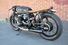 Black & Tan CB550 build by Brady Young //Seaweed... | Seaweed & Gravel