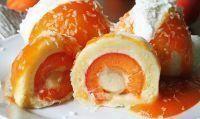 Ovocné knedlíčky z ovesných vloček, fitness recepty
