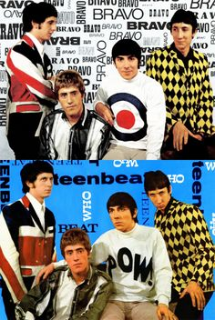 Great Bands, Cool Bands, Thunder Bird, Fred Perry Polo, John Entwistle, Keith Moon, Pictures Of Lily, Pete Townshend, Paul Weller