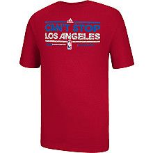 adidas Los Angeles Clippers 2013 Pacific Division Champions Locker Room T- Shirt Nba Store 39e841a79
