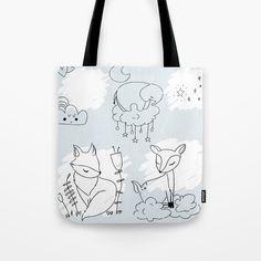 Plakatowka Izabela Szafran-Frankowska on Behance Scandinavian Style, Tech Accessories, Pattern Design, How To Draw Hands, Reusable Tote Bags, Behance, Cute, Sky, Heaven