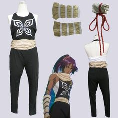 eFunLive - Bleach Shihouin Yoruichi anime cosplay costume womens party jumpsuit, $31.59 (http://www.efunlive.com/bleach-shihouin-yoruichi-anime-cosplay-costume-womens-party-jumpsuit/)