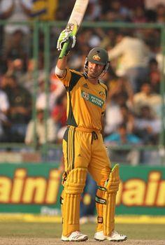 Ricky Ponting - arguably the best-ever No 3 batsman in ODI history.