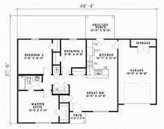 images about Floor Plans on Pinterest   Floor plans  House       images about Floor Plans on Pinterest   Floor plans  House plans and Square feet