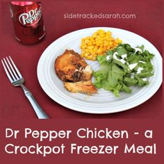 Dr Pepper Chicken in the Crockpot
