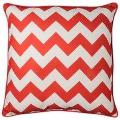 "Room Essentials™ Oversized Chevron Toss Pillow - Gray (24x24"")"
