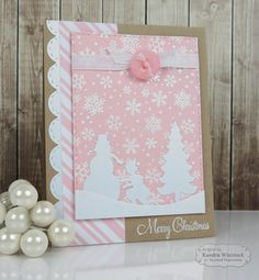 Kendra's Card Company: Taylored Expressions Sneak Peeks Day #1: Pink Winter Wishes