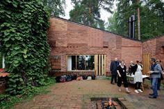 Brick Texture by Alvar Aalto