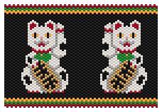 Maneki-neko (beckoning cat)