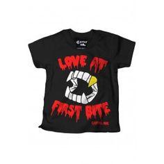 Kid's Love At First Bite T-Shirt - White